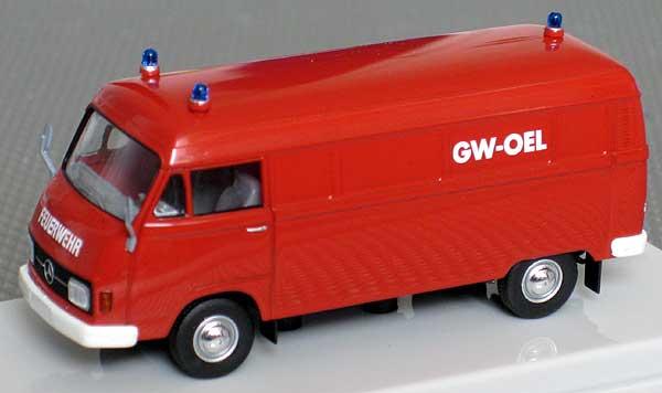 1//87 Brekina MB 206 Feuerwehr GW Öl SONDERPREIS 13307 Starmada