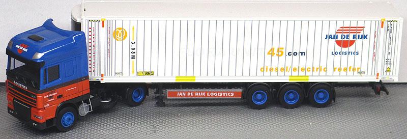 AWM LKW Renault Magnum 45/' WK-SZ De Rijk//Intermodal